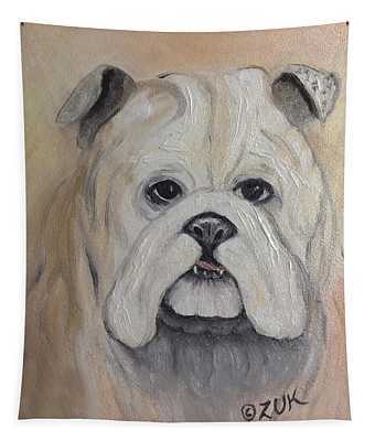 Bulldog Tapestry