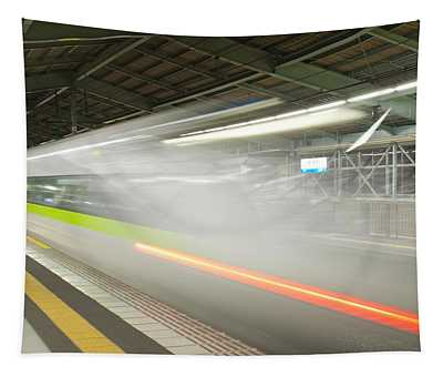 Bullet Train Tapestry