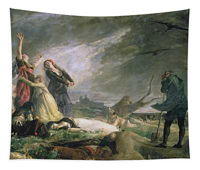 Burial At La Moncloa In May 1808 Oil On Canvas Tapestry