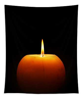 Burning Candle Tapestry