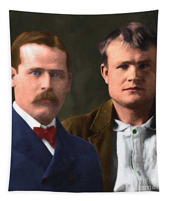 Butch Cassidy And The Sundance Kid 20130512 V3 Square Tapestry
