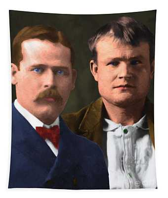 Butch Cassidy And The Sundance Kid 20130512 V3 Vertical Tapestry