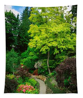 Butchart Gardens Pathway Tapestry