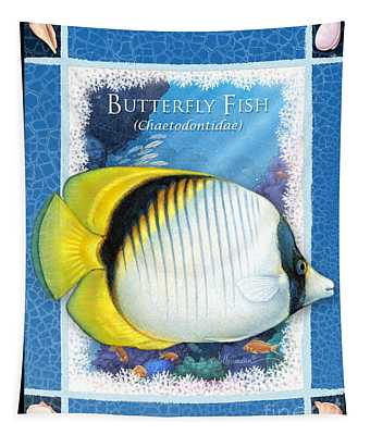 Butterfly Fish Tapestry