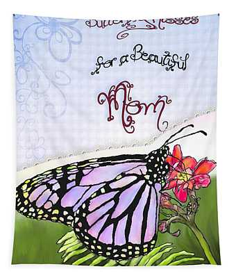 Butterfly Kisses Tapestry