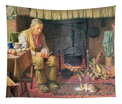 By The Fireside Tapestry