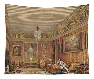 Byrons Room In Palazzo Mocenigo, Venice Tapestry