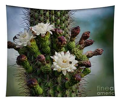 Cacti Bouquet  Tapestry