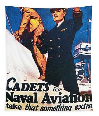 Cadets For Naval Aviation Take That Tapestry