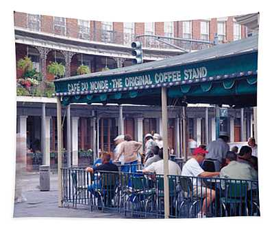 Cafe Du Monde French Quarter New Tapestry