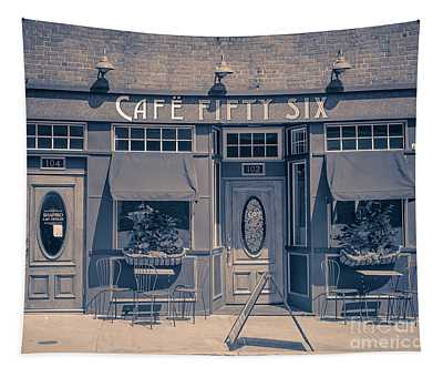 Cafe Fifty Six Middletown Connecticut Tapestry