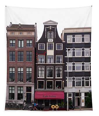 Cafe Pollux Amsterdam Tapestry