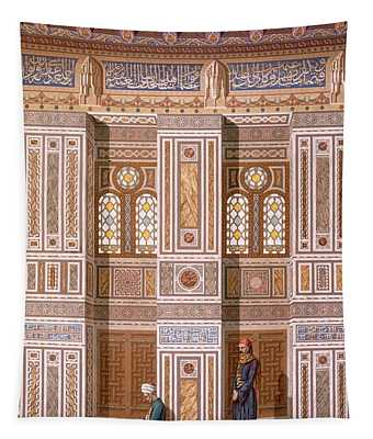 Cairo Interior Of The Mosque Tapestry