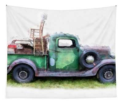 California Or Bust II Tapestry