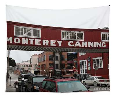 Calm Morning At Monterey Cannery Row California 5d24763 Tapestry