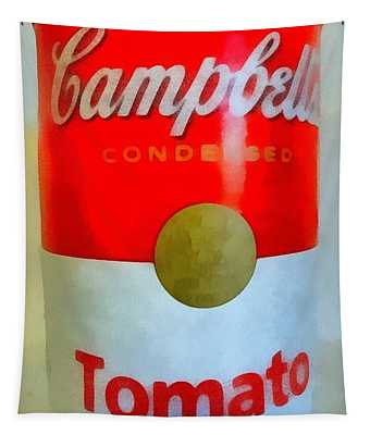 Campbell Soup Can Tapestry