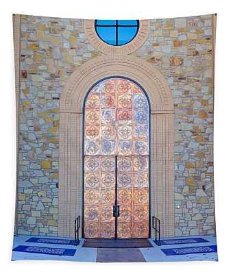 Campus Door Tapestry