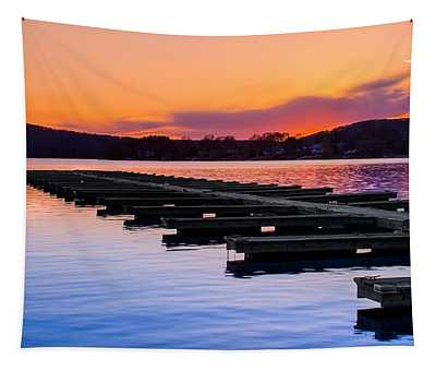 Candlewood Lake Tapestry