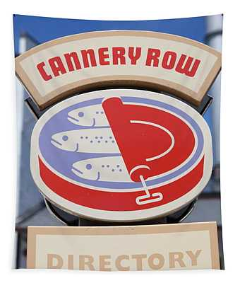 Cannery Row Directory At The Monterey Bay Aquarium California 5d25020 Tapestry