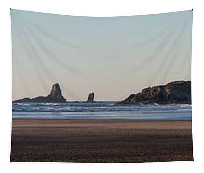 Cannon Beach Vast Coastline Tapestry
