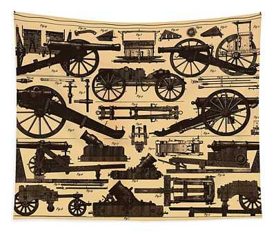 Cannon Makes And Styles 1895 Tapestry