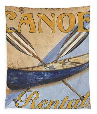 Canoe Rentals Tapestry