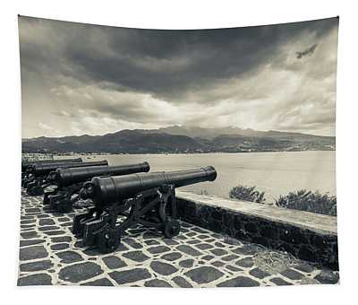 Canons At Fort Shirley, Cabrits Tapestry