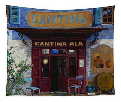 cantina Ala Tapestry