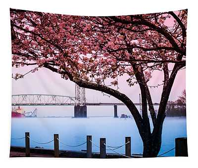 Cape Fear Of Wilmington Tapestry