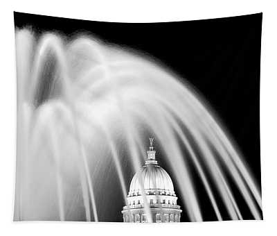 Capitol Fountain Tapestry