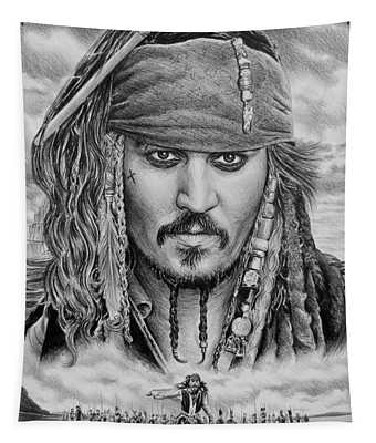 Captain Jack Sparrow Tapestry