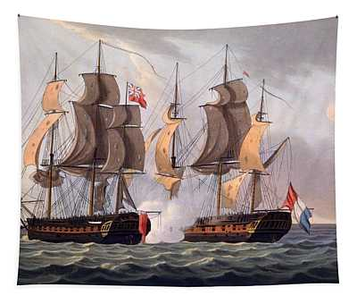 Capture Of La Proserpine Tapestry