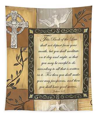 Caramel Scripture Tapestry