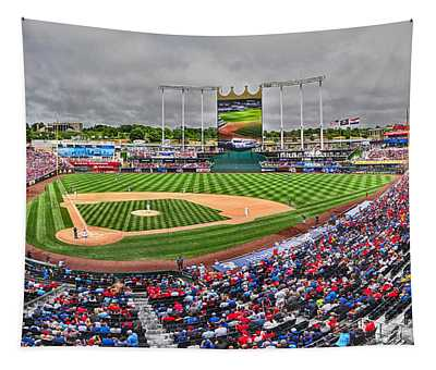 Cardinals At The K Tapestry