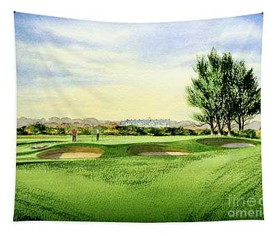 Carnoustie Golf Course 13th Green Tapestry