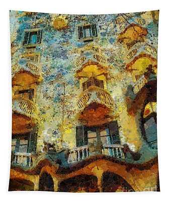 Casa Battlo Tapestry