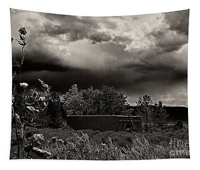 Casita In A Storm Tapestry