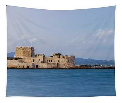 Castle Bourtzi And Buoy Tapestry