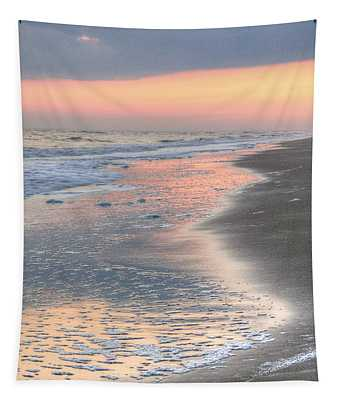 Caswell Beach. Tapestry by JC Findley