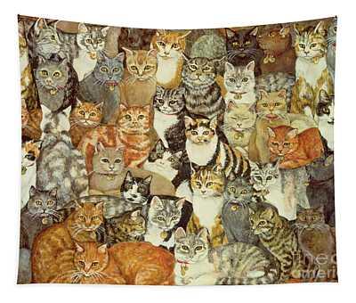Cat Spread Tapestry