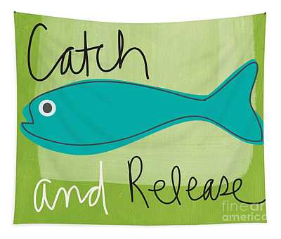 Catch And Release Tapestry