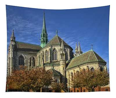 Cathedral Basilica Of The Sacred Heart Tapestry