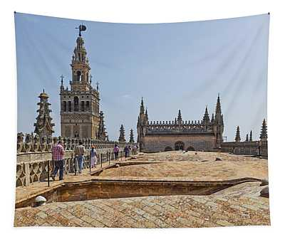 Cathedral In A City, Seville Cathedral Tapestry