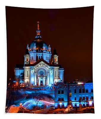 Cathedral Of St Paul All Dressed Up For Red Bull Crashed Ice Tapestry
