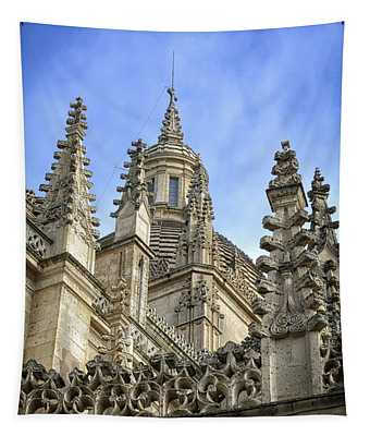 Cathedral Spires Tapestry