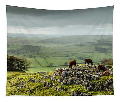 Cattle In The Yorkshire Dales Tapestry