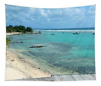 Cayman Beach Tapestry