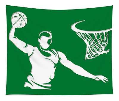 Celtics Shadow Player1 Tapestry