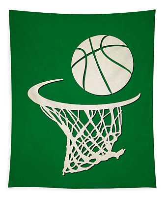 Celtics Team Hoop2 Tapestry