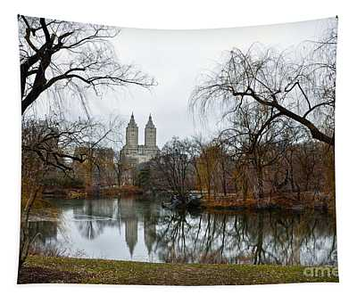 Central Park And San Remo Building In The Background Tapestry